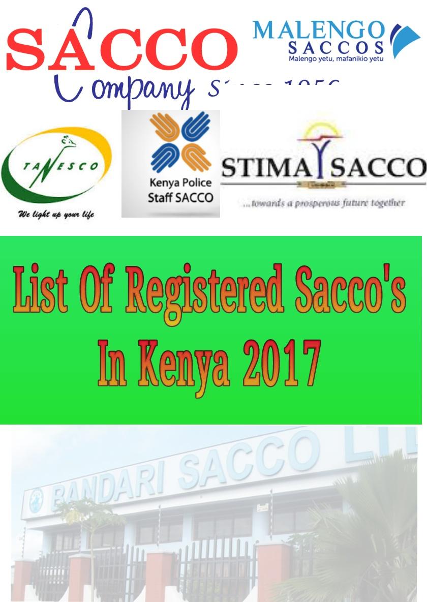 what is a sacco in kenya